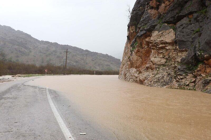 سیلاب سه راستا در جنوب سیستان و بلوچستان را بست