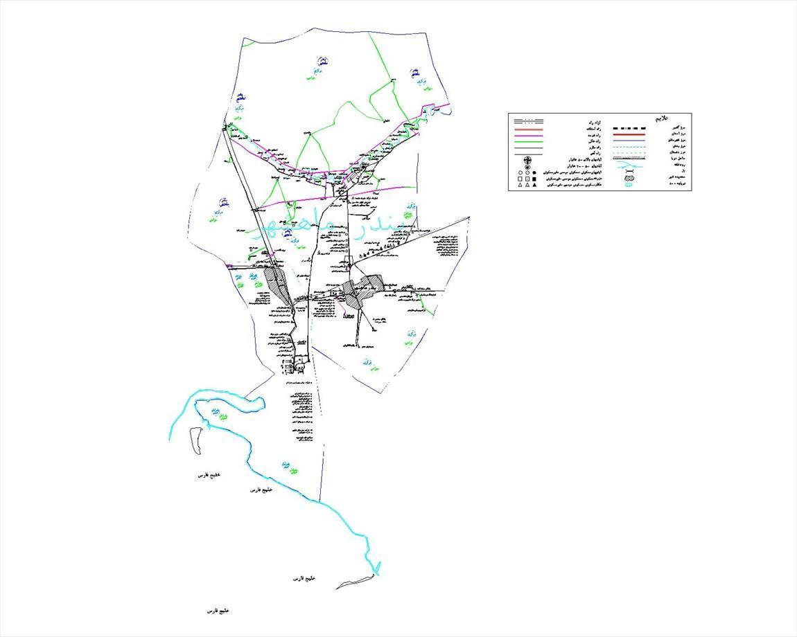تاریخچه و نقشه جامع شهر بندر ماهشهر در ویکی خبرنگاران