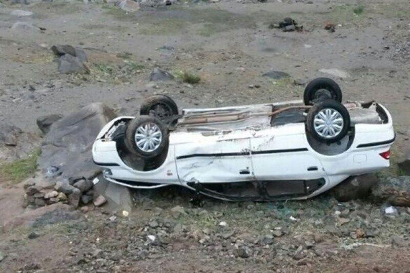 خبرنگاران تصادف در محور نهبندان - بیرجند 2 کشته و 5 مصدوم داشت