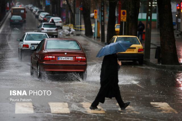 هشدار سازمان هواشناسی نسبت به رگبار باران در برخی استان ها