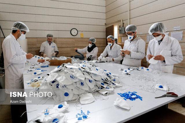 فراوری روزانه 3500 اقلام بهداشتی توسط پشتیبانان مشاغل خانگی خراسان جنوبی