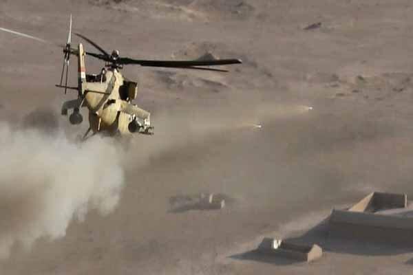 بالگردهای عراقی مواضع داعش در دیالی را درهم کوبیدند