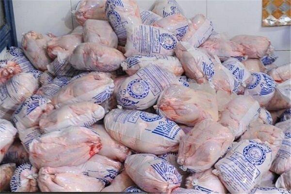 صادرات مرغ منجمد در کردستان به 200 تن رسید