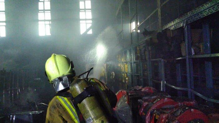 جزئیات آتش سوزی در یکی از ساختمان های صدا و سیما
