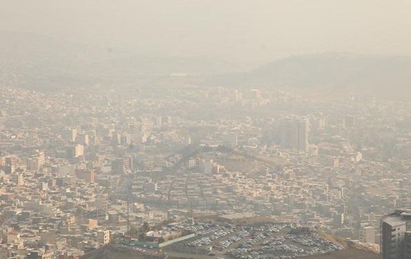 هوای تهران همچنان ناسالم است ، 80 تا 149، میانگین آلودگی هوای تهران در 24 ساعت گذشته