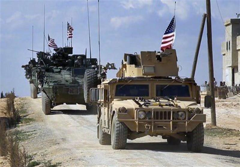 ارتش سوریه ستون نظامی آمریکا را مجبور به عقب نشینی کرد