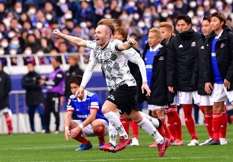 سود 96 میلیون یورویی ویسل کوبه در فوتبال ژاپن