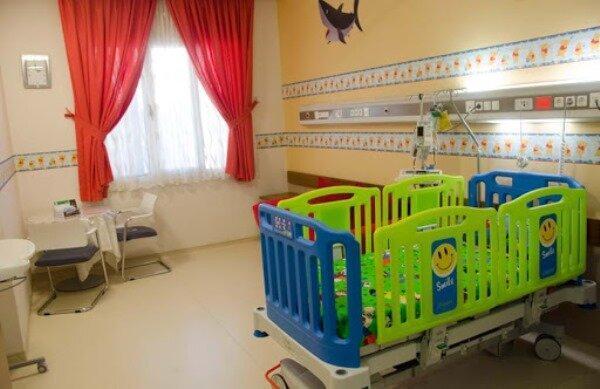 افتتاح بخش کودک در بیمارستان بافق