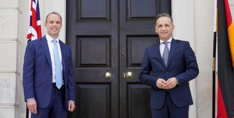 وزیران خارجه انگلیس و آلمان درباره ایران چه گفتند؟