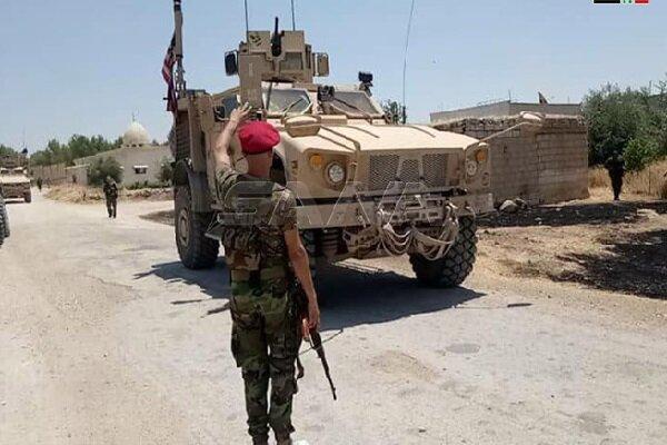 ارتش سوریه بازهم اشغالگران آمریکایی را مجبور به عقب نشینی کرد