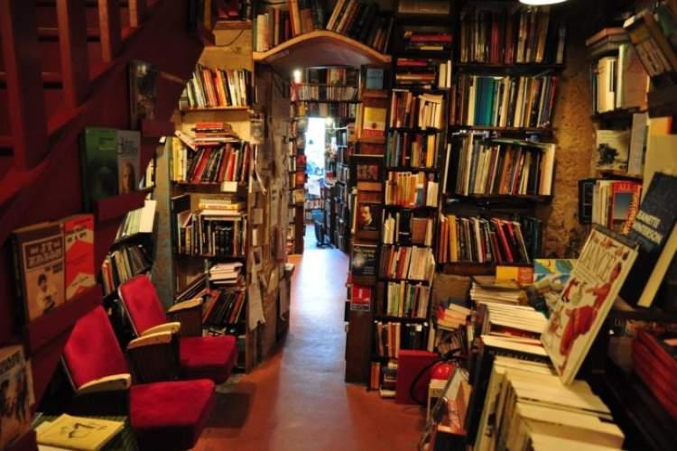 اتاق جیغ کتابفروشی مشهور شهر قاهره