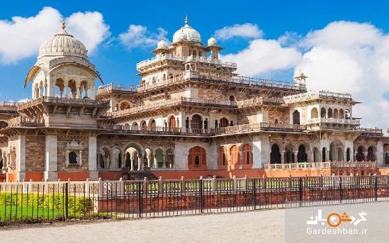 موزه آلبرت هال از جاذبه های خوش نقش و نگار جیپور هند