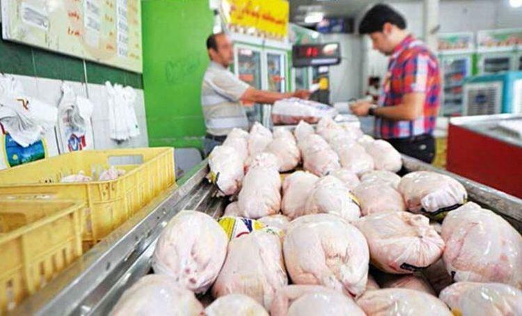 قیمت هر کیلو مرغ در بازار به 19هزار تومان رسید