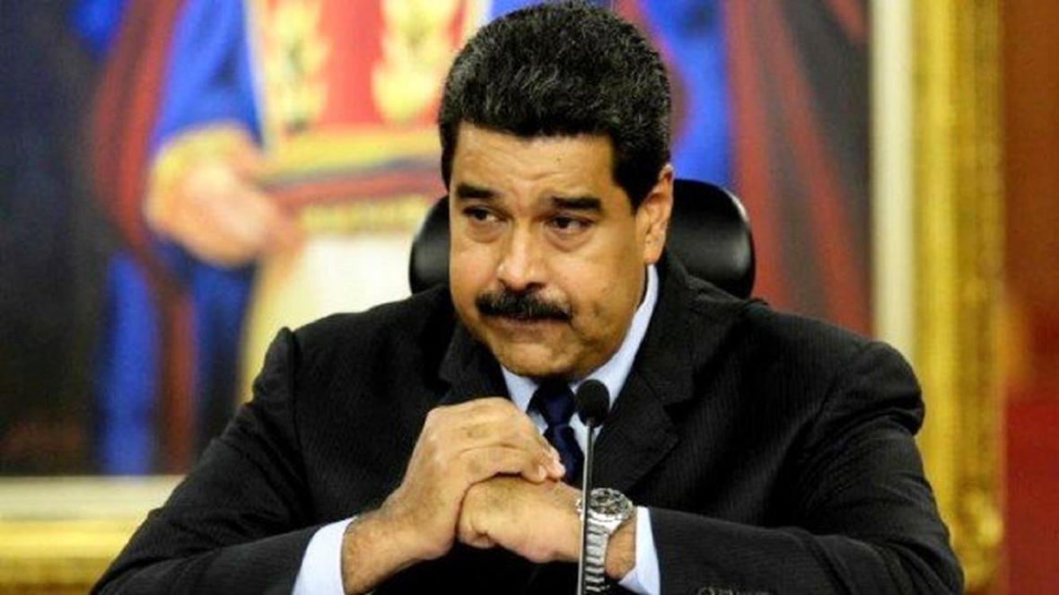 مادورو: ترامپ برای سرم جایزه گذاشته است