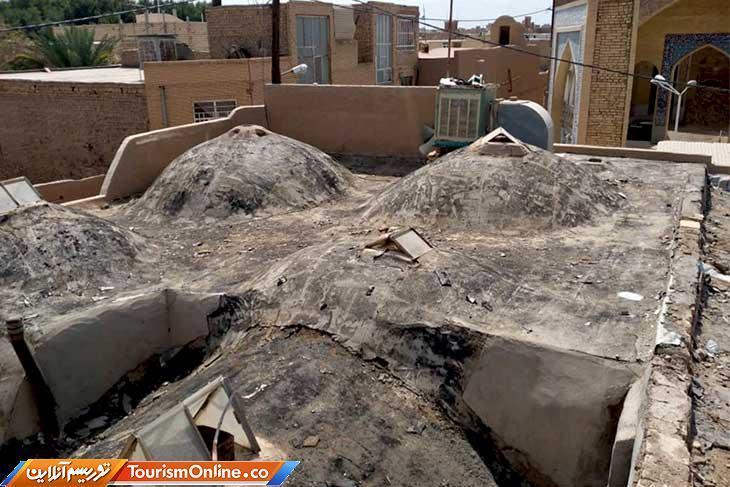 شروع بازسازی بقعه امام زاده حسن در بافت تاریخی یزد