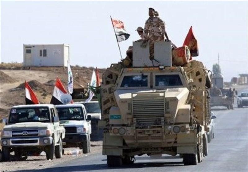 عراق، درخواست عشایر دیالی از حشد شعبی برای سرکوب تروریست ها، اصابت موشک به فرودگاه بغداد