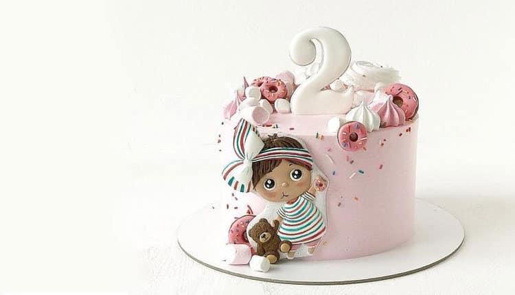 30 مدل کیک تولد دخترانه عروسکی با تم کارتونی جدید