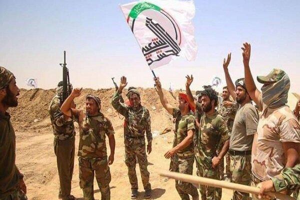 کشف مقادیری بمب و موشک متعلق به داعش توسط حشدشعبی عراق