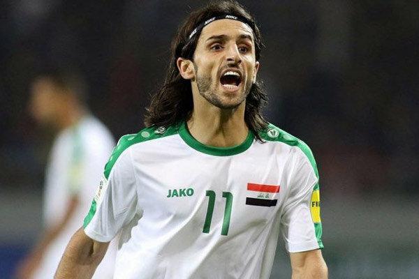 کُری هافبک تیم ملی عراق برای ایران، امیدوارم ما و بحرین صعود کنیم