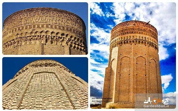 برج مهماندوست از جاهای دیدنی سمنان، عکس