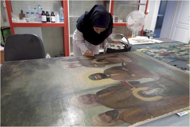 دو اثر مذهبی به مناسبت اربعین در البرز پاک سازی شد