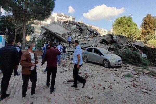 شمار قربانیان زلزله ازمیر به 107 نفر افزایش یافت