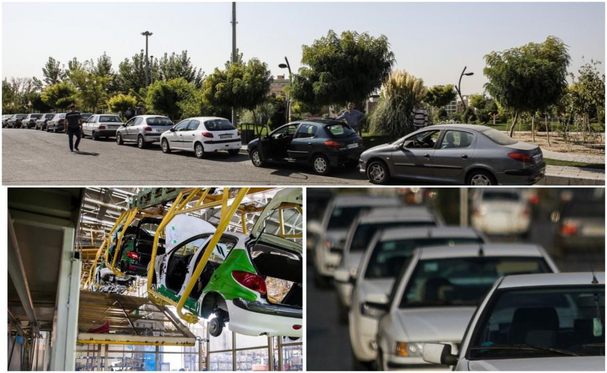 کام بک قیمتی خودروهای داخلی در نیمه دوم هفته پیش