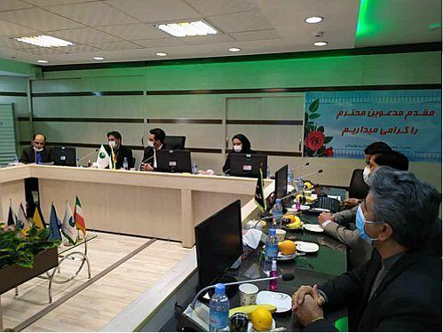 بازدید مهندس آذری جهرمی از مدیریت شعب پست بانک استان سیستان و بلوچستان