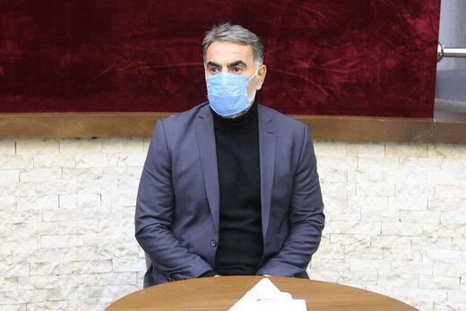 جلسه خصوصی محمود فکری با ستاره استقلالی ها