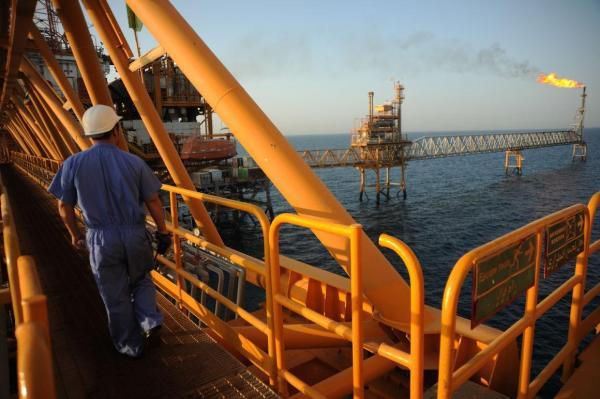 ذخایر نفت ایران در خلیج فارس افزایش یافت