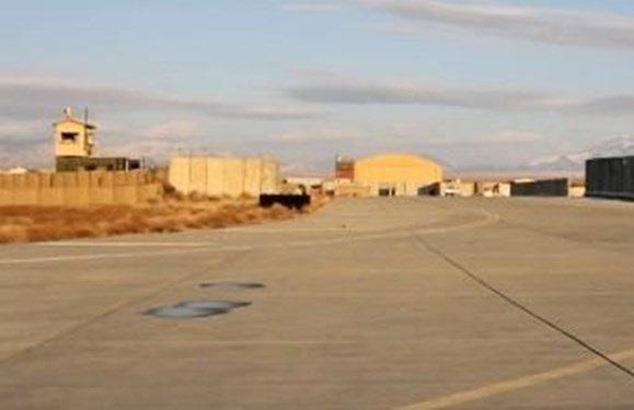 خروج نظامیان آمریکایی از یک پایگاه عظیم در شرق افغانستان