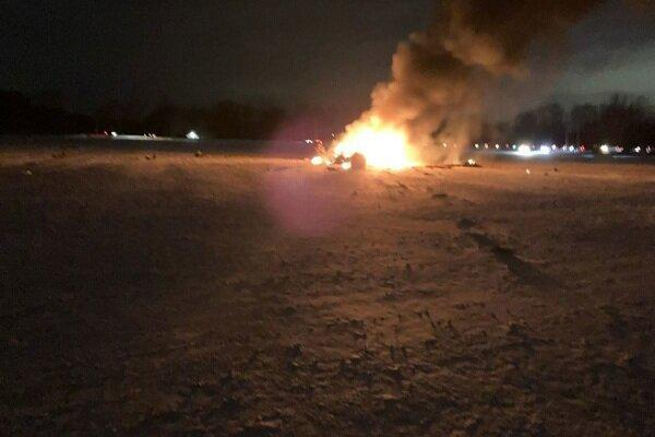 سقوط یک بالگرد نظامی، 3 عضو گارد ملی آمریکا کشته شدند