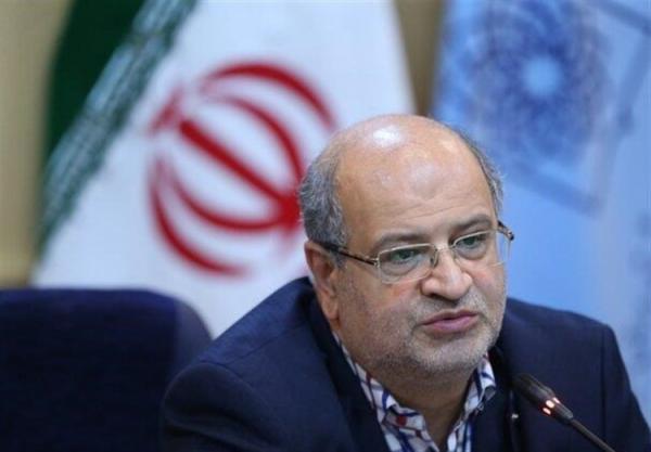 زالی: آمار مبتلایان به کرونا در استان تهران افزایشی شد