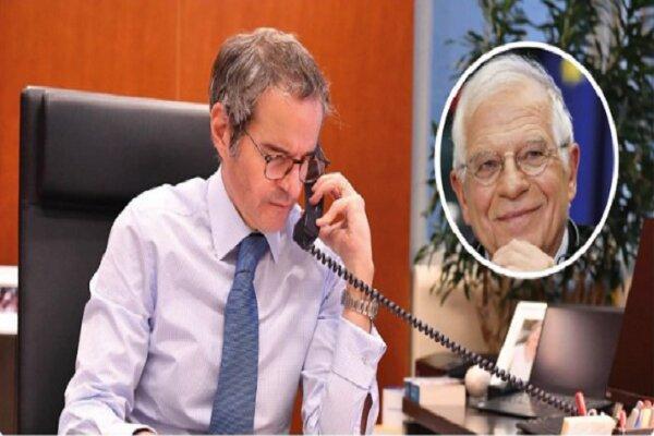 مدیرکل آژانس بین المللی انرژی اتمی با جوزف بورل مصاحبه کرد