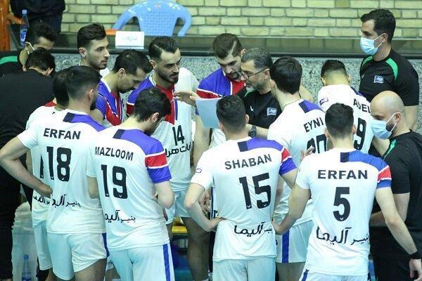 بازی رده بندی والیبال برگزار نمی گردد، هراز و سپاهان مشترکا سوم