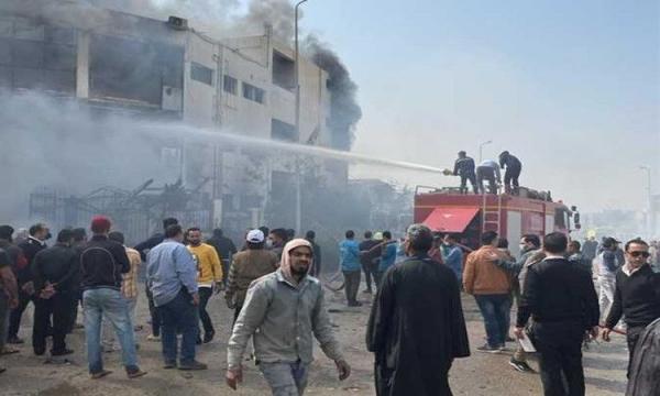 آتش سوزی در مصر 20 کشته و 24 زخمی برجا گذاشت