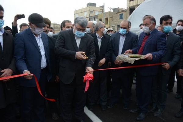 پروژه تقاطع غیر همسطح ابوطالب مشهد افتتاح شد