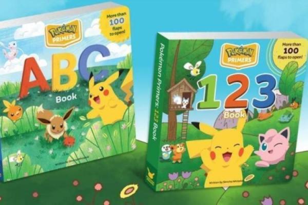 چاپ کتاب های آموزشی بچه ها توسط کمپانی بازی های پوکمون