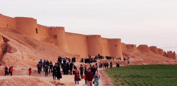 شکوه تاریخ چندهزار ساله اسفراین در ارگ بلقیس