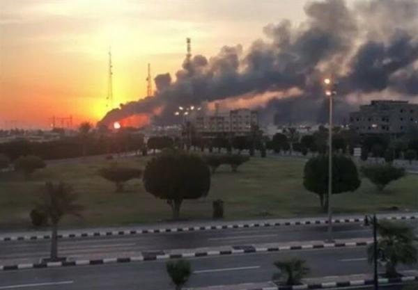 شرکت آرامکو عربستان با 6 پهپاد انصارالله هدف نهاده شد