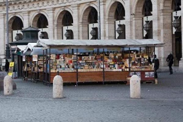 باز ماندن کتابفروشی در ایتالیا در قرنطینه سراسری جدید این کشور
