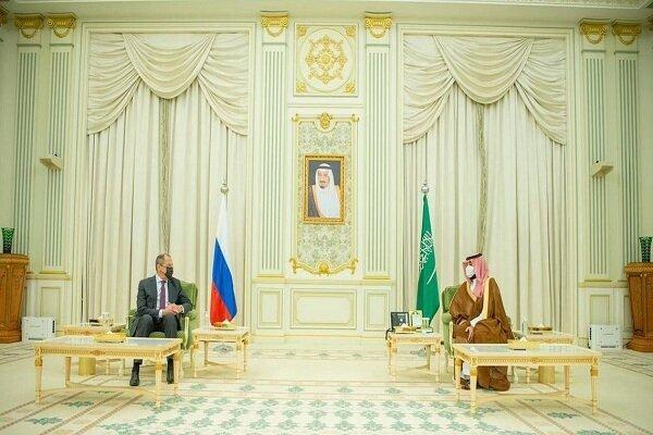 لاوروف و ولیعهد سعودی ملاقات کردند