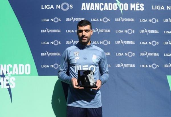 طارمی جایزه بهترین مهاجم ماه فوریه لیگ پرتغال را دریافت کرد
