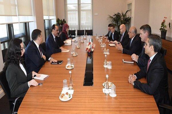 خلیلزاد با سخنگوی اردوغان در استانبول دیدار کرد