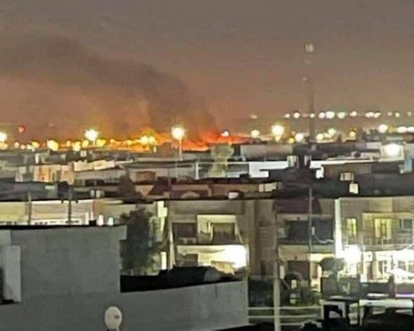 حمله راکتی به فرودگاه اربیل