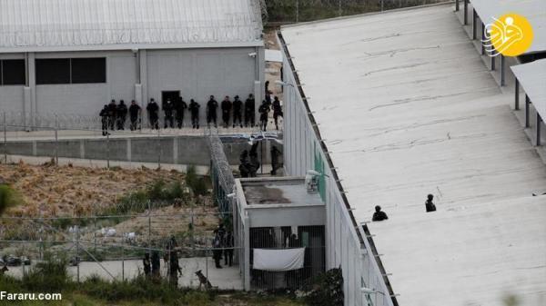 (تصاویر) آشوب زندانیان در هندوراس