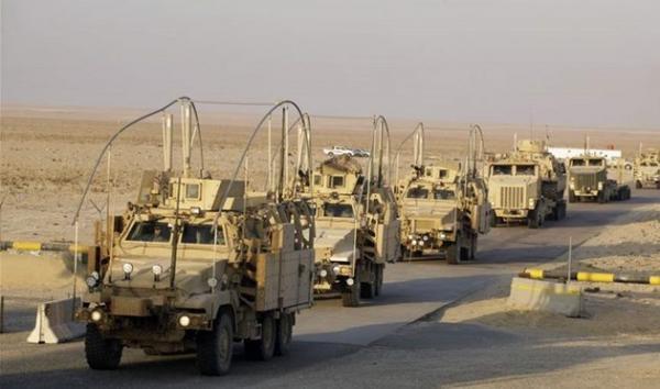ورود 30 کامیون و نفتکش متعلق به عناصر آمریکایی به شرق سوریه