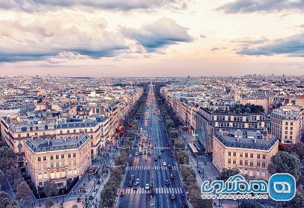 خیابان های معروف پاریس