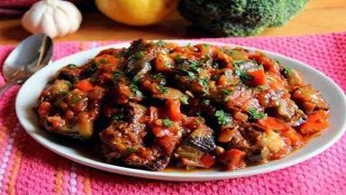 طرز تهیه خوراک بادمجان کبابی به سبک ترکیه ای ها