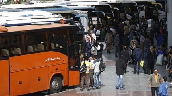 گلایه مسافران از گرانی نرخ اتوبوس ها